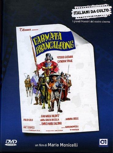 Copertina del DVD L'armata Brancaleone di Mario Monicelli